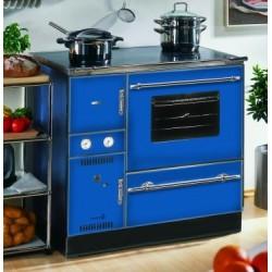 Wamsler K 148 CL blau chrombeschläge