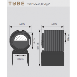 Tube Bridge by EHV®